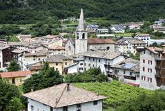 Italian village Royalty Free Stock Images