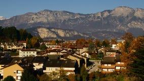 Italian village stock footage