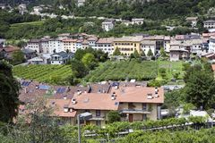 Italian village houses Royalty Free Stock Photos