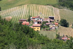 Italian village near Parma Royalty Free Stock Image