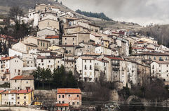 Italian village Royalty Free Stock Image