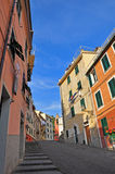 Italian village street Stock Photography
