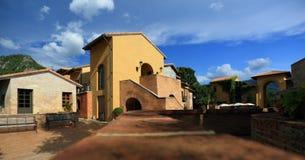Italian village style Stock Photography