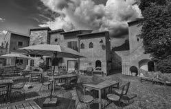 Italian village style Royalty Free Stock Photos