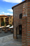 Italian village style Royalty Free Stock Images