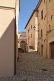 Italian village in Umbria - Italy Royalty Free Stock Photo
