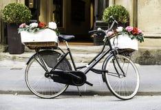 Italian vintage bicycle Stock Photography