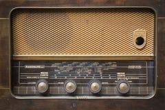 Italian vintage radio. Front of italian radio of the 50s Stock Image