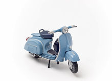 Italian vintage scooter Royalty Free Stock Images