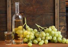 Italian Vodka �Grappa� Stock Photography