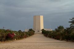 Italian war graves memorial of El Alamein in Egypt Stock Photo