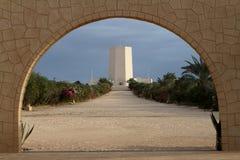 Italian war graves memorial of El Alamein in Egypt Royalty Free Stock Image