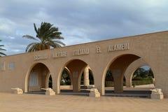 Italian war graves memorial of El Alamein in Egypt Stock Images