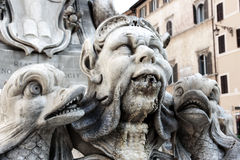 Italian water fountain Stock Images