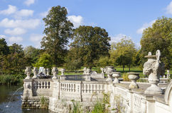 Italian Water Garden in Kensington Gardens Royalty Free Stock Image