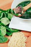 Italian Wedding Soup Stock Images