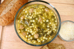 Italian Wedding Soup Royalty Free Stock Photography