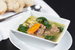 Italian Wedding Soup Royalty Free Stock Images