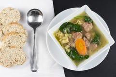 Italian Wedding Soup Royalty Free Stock Photos
