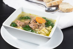 Italian Wedding Soup Royalty Free Stock Photo