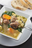 Italian Wedding Soup Stock Photography