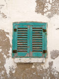 Italian window. Typical window of southern italy, Polignano stock photos