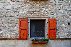 Italian Window Stock Photography