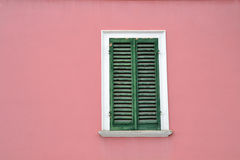 Italian window Royalty Free Stock Photography