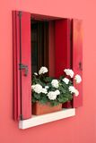 Italian Window. Window in the Italian city Caorle Stock Photography