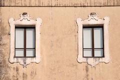 Italian window Stock Photography
