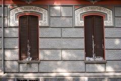 Italian window Stock Images