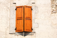 Italian window. Royalty Free Stock Images