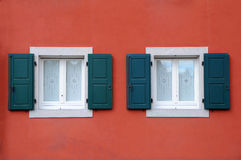 Italian Windows Royalty Free Stock Photos