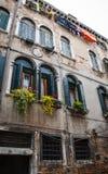 Italian windows Stock Photography