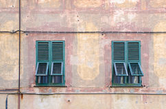 Italian windows Royalty Free Stock Photography