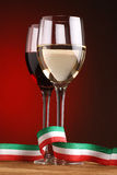 Italian wine Stock Image