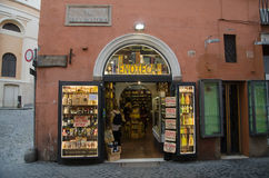 Italian wine shop Royalty Free Stock Image
