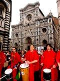 Italian women against Prime Minister Berlusconi Stock Images