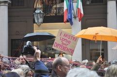 Italian women rally Stock Image