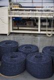 Italian wool processing plant Stock Photography