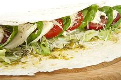 The italian wrap Stock Images