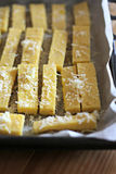Italian Yellow Polenta Royalty Free Stock Image