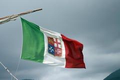 Italiana de Bandiera Fotos de archivo libres de regalías