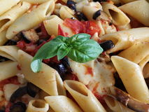 Italiana de pâtes Images stock