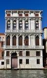 Italianate在大运河的建筑学轮胎 库存图片