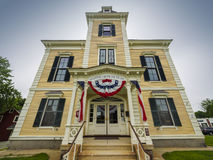 Italianate building in New England Royalty Free Stock Photo