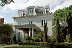 Italianate Style Home Stock Photos