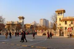 ¼ italiano ŒChina del styleï de Tianjin Imagenes de archivo