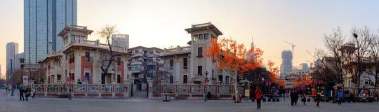 ¼ italiano ŒChina del styleï de Tianjin Imagen de archivo