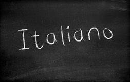 Italiano Stock Images